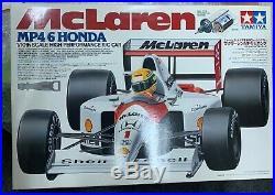 VINTAGE TAMIYA NIB 1/10 1991 SENNA McLaren MP4/6 Honda F1 RC Model Car Kit 58104