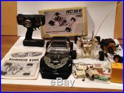 VTG 1/12 Scale Associated Electrics RC12E R/C Car Kit Part Lot Parma Silverbird