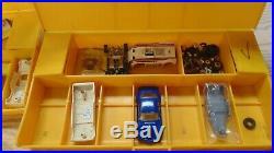 VTG Aurora HO Sports Car Slot Cars Lot of 13 Cars & Bodies Plus Parts & Pieces