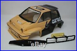 VTG Original Tamiya 1/10 Willy Wheeler Honda City Turbo Racing Body FLAWED