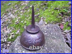 Very old 1908 Original Ford motor co. Oil auto Can accessory vintage tool kit oe