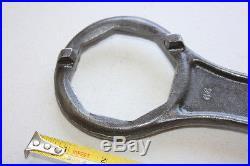 Veteran Wheel Hub Nut Cap Spanner Wrench Vintage Brass Car Era Part Of Tool Kit