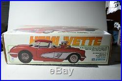 Vintage 1/10 scale Parma Hemi Vette RC car kit
