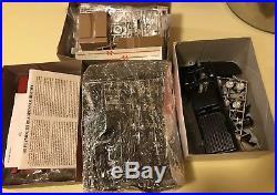 Vintage 1/25 AMT Revell Model Car Junkyard Parts Lot In Boxes Plastic Metal Body