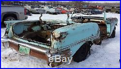 Vintage 1957 57 Oldsmobile Convertible Parts Donor Car with Lots of Pieces
