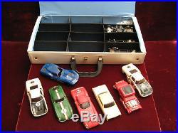 Vintage 1960's IDEAL MOTORIFIC-RACERIFIC Cars Parts withCollector's Case Incl'd