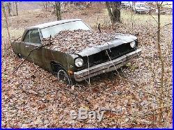 Vintage Parts Cars | Vintage 1974 Plymouth Scamp Parts Car