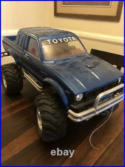 Vintage 1980s Tamiya Toyota Bruiser Amazing Rare Rc Truck Crawler Vtg