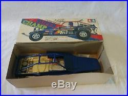 Vintage 1982 TAMIYA SUPER CHAMP Body Parts Set NIB Sand Scorcher Rough Rider