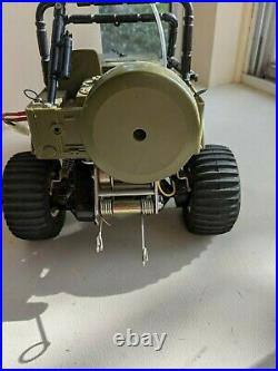 Vintage 1983 MRC Tamiya Wild Willy M38 Jeep 1/10 RC For Parts or Repair