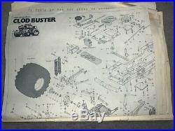 Vintage 1987 Clod Buster