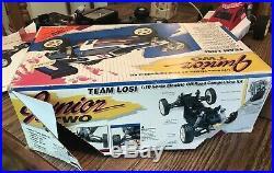 Vintage 1990 Team Losi Junior Two RC Buggy In Original Box-Original Owner
