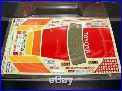 Vintage 1994 Tamiya 58136 Toyota PRERUNNER HiLux Monster Racer Body & Decal Set