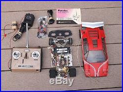 Vintage 70's Tamiya 1/12 Lamborghini Countach LP500S RC Race Car / Parts Repair
