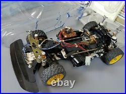 Vintage 80's 1/12 Tamiya R/C Porsche 959 Partial Restore Project body decal part