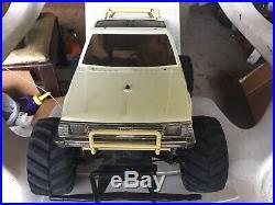 Vintage 80s tamiya mud blaster subaru brat 1/10 rc off road pick up. L@@K