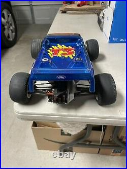 Vintage Associated RC-10 T3 Stadium Truck Custom Painted Body 1/10 Scale Roller