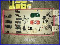 Vintage Aurora Thunderjet T-jet 5 Car Lot Set + New, Used Parts HO Slot Cars