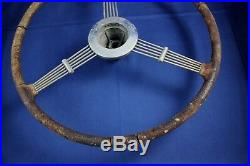 Vintage CAR STEERING WHEEL BANJO STRING Part Accessory Repair Original Classic