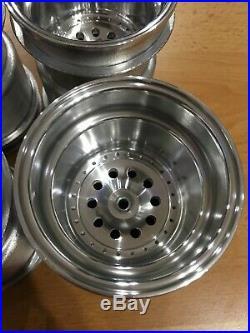Vintage Clod Buster Polished SEES Wheels Bullhead Juggernaut TXT