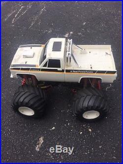 Vintage Parts Cars Vintage Clodbuster 4 4 Rc Monster Truck