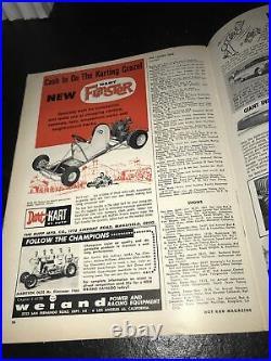 Vintage December 1960 Hot Rod Magazine Drag RACING nhra Troubleshooting Ignition