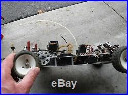 Vintage EDM Dirt Oval Gas Car Modified 1/10th RC10 Nitro Moodys custom works
