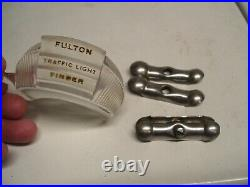 Vintage FULTON TRAFFIC LIGHT FINDER original viewer 1950s GM Ford chevy Cadillac