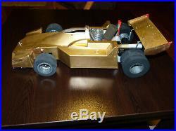 Vintage GRAUPNER EXPERT SPEED RC CAR 1/8 Nitro Malboro BRABHAM F1-Free Shipping