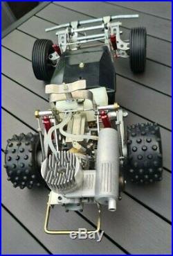 Vintage Graupner Datsun 240Z Fairlady Nr. 4982 neu incl. Thunder Tigre 21 ABC