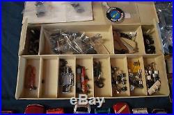 Vintage HO Slot Race Car & Chassis Body Parts Lot Aurora AFX Tyco bone yard