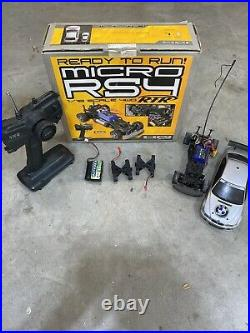 Vintage HPI Micro RS4 RTR BMW M3/ With Box And Battery