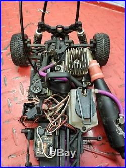 Vintage HPI RS4 Nitro Engine 4×4 Belt Driven RC Car
