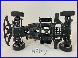Vintage HPI RS4 Original Version Graphite Rolling Chassis ARTR Nice pro