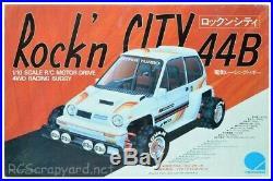 Vintage Hirobo Rockn City 44b Buggy Rare 4wd
