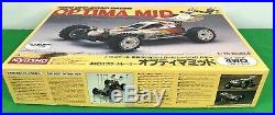 Vintage KYOSHO RC Car Buggy 4WD Optima Mid, Box Only, 3135