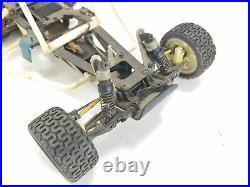 Vintage Kyosho 1/10 2wd RC Car Buggy Roller Rolling Chassis Parts Car Used