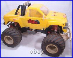 Vintage Kyosho Big Brute 110th Scale RC Monster Truck with Manual + Spare Parts