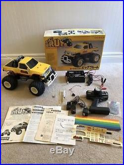 Vintage Kyosho Big Brute Complete RTR With Original Box Manual Radio & Charger