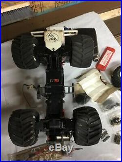 Vintage Kyosho Big Brute RC Monster Truck, Parts rare