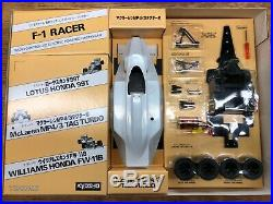 Vintage Kyosho F1 Racer 1/18 McLaren MP4 3 Tag Turbo RC Formula One 1