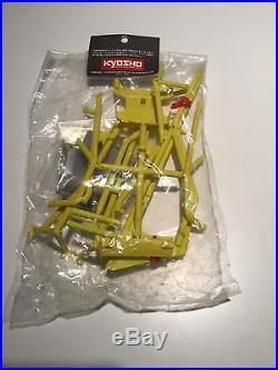 Vintage Kyosho Javelin OT-63Y Yellow Cage Set Body NIP