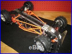 Vintage Kyosho Javelin/Optima 4WD / Alloy bumper & wheels / Belt drive