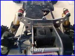 Vintage Kyosho Javelin / Optima / Salute. Le Mans Race Motor 4wd 1st Gen RC10
