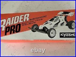 Vintage Kyosho Raider Pro NOS Kit Unbuilt Rc Buggy Car