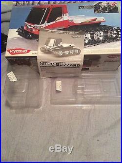 Vintage Kyosho nitro blizzard