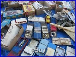 Vintage LARGE Lot Plastic Model Cars Trucks Planes Others JUNKYARD LOTS PARTS