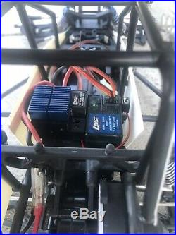 Vintage Losi 1/10 Slider Sprint Car with radio LOSB0290 With extra motor and ESC