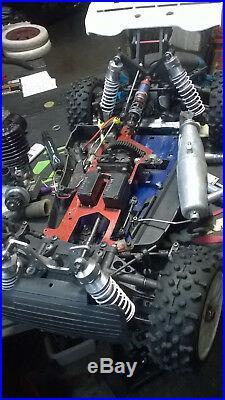Vintage Mantua Garbo Mitika 4wd Old School 1/8 Nitro Rc Buggy Roller