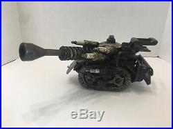 Vintage Military Trench Art Style Battle Tank Car Parts Art Vintage Tools